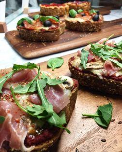 Parma Ham, Button Mushroom & Rucula